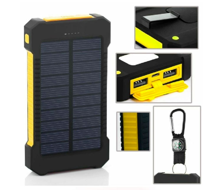 solarcharger powerbank ad energia solare